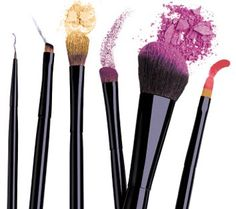 invest in good quality brushes - love bare minerals brushes for face, and sephora's for eyes!