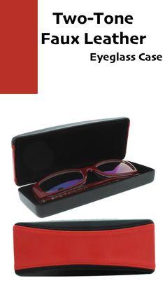 Glasses Holder For Medium To Large Frames Textured Polka Dot Hard Eyeglass Case