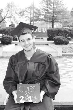 Graduation senior picture idea did this for my brother ;-) great for guys and girls
