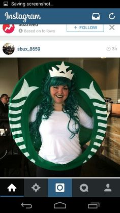 Starbucks Siren Halloween Costume (mermaid)
