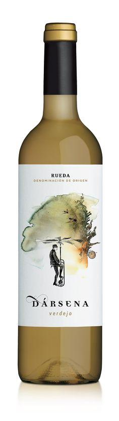 Verdejo • Rueda D.O.(Alcohol Bottle Design)