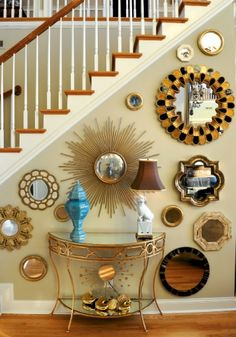 30+ Ways to Decorate with Mirrors - The Cottage Market *I am a freak for mirrors anyways!!*