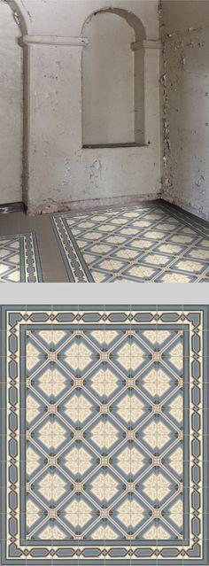 Statt Fliesenspiegel! Fliesen Muster dekorative PVC Vinyl Mat - küche statt fliesenspiegel
