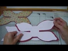 Hobby For Stay At Home Moms Life - - Hobby Lobby Wedding Invitations - Hobby Ideas For Men - Hobby Room Organization Small Spaces - Hobby Videos Hombres Diy Hair Bows, Diy Bow, Bow Template, Card Templates, Paper Cards, Folded Cards, Bow Pattern, Bow Tutorial, Card Making Techniques