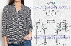 Pola Tangan Sewing Blouses Summer Diy Sewing Hacks Sewing Projects Dress Patterns Sewing Patterns Dress Summer Old T Shirts Dress Sewing Patterns, Blouse Patterns, Sewing Patterns Free, Clothing Patterns, Blouse Designs, Make Your Own Clothes, Diy Clothes, Sewing Blouses, Sewing Shirts