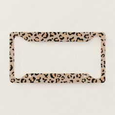 Shop Animal Print, Spotted Leopard - Brown Black License Plate Frame created by sitnica. Audi Tt, Ford Gt, Peugeot, Toyota, Jeep Wrangler Accessories, Car Interior Decor, Cute Car Accessories, Car Essentials, Gadgets