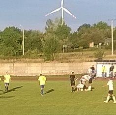 Mecz Vtej ligi Naprzód Jabłonowo