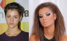 25 Epic Make Up Transformations