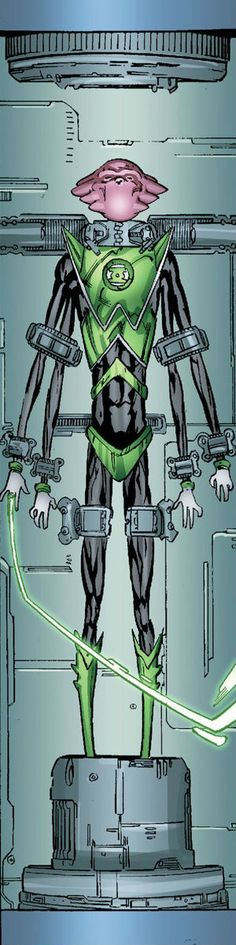 Green Lantern Salaak by Fernando Pasarin