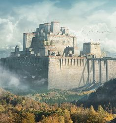 Ancient Walled Kingdom on Behance