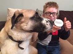 The lovely Owen & Haatchi!