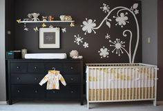 nursery in the master bedroom * bebi kutak u spavacoj sobi | PassionDecor