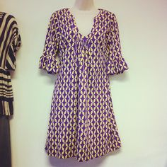 Super cute Tracy Negoshian  size Medium LSU purple & gold dress from a local boutique - only $16.99! We have 2 - originally about $130!