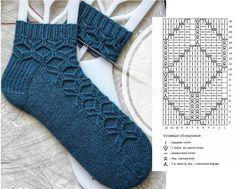 Crochet Socks, Knitted Slippers, Knitting Socks, Crochet Yarn, Crochet Clothes, Knitting Charts, Baby Knitting Patterns, Baby Flip Flops, Baby Girl Sandals