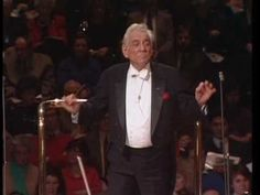 """YOU MUST WATCH THIS!! Leonard Bernstein conducting the classic """"Candide Overture"""" His style is his own and it is very, very entertaining...I promise! Sensational music...can't say enough!"""