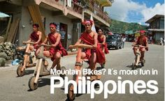 Mountain Bikes... More fun in the Philippines