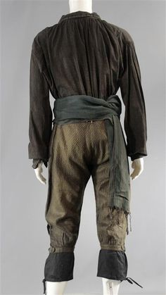 BLACK SAILS CAPTAIN FLINT TOBY STEPHENS SCREEN WORN PIRATE COSTUME SS 3 | eBay