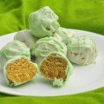 Key Lime Oreo Truffles