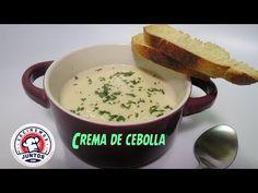 Sopa cremosa de cebollas. - YouTube