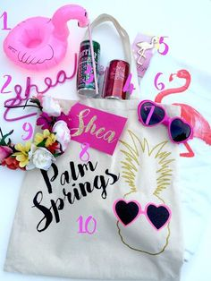 Spring Bachelorette Party | alternative bachelorette favorsBeach bachelorette party favor idea