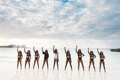 Going For Gold - Olympic Gold Medalist Shaunae Miller and Her Bridal Party Slay Their Bahamas Photo Shoot