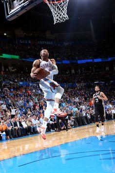 Russell Westbrook Throws Down Sick Reverse Dunk | Ballislife.com