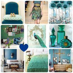 Peacock Home Inspiration Board