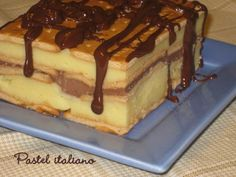 Tarta de galletas Pie Dessert, Cookie Desserts, Chocolate Desserts, Mexican Food Recipes, Sweet Recipes, Cake Recipes, Dessert Recipes, Argentina Food, Thermomix Desserts
