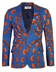 www.cewax aime les vêtements hommes ethniques, Afro tendance, Ethno tribal Men's fashion, african prints fashion - AFRICAN PRINT BLAZER OHEMA OHENE