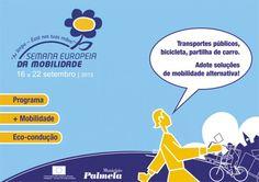 Diversos | Semana Europeia da Mobilidade | 16 a 22 de Setembro | Palmela