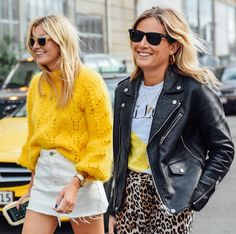 "Gefällt 7,348 Mal, 60 Kommentare - Lucy Williams | Fashion Me Now (@lucywilliams02) auf Instagram: ""Less mellow yellow, more hyperactive bananas...  All smiles arriving at the @ganni show in…"""