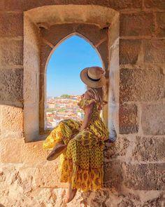 Lisbon, Portugal with Marina Comes, Lisboa, Lisbon and missjune Merida, Bohemian Style, Thinking Of You, Create Your Own, Princess Zelda, How To Wear, Lisbon Portugal, Fictional Characters, Beauty