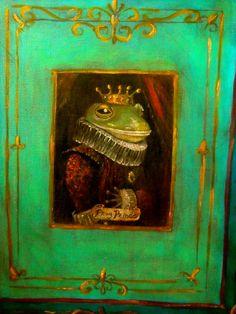 Fairy Tale Frog