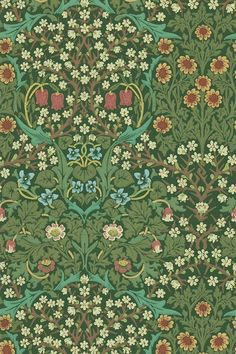 Discover hundreds of wallpaper ideas on HOUSE - design, food and travel by House & Garden including Blackthorn by William Morris