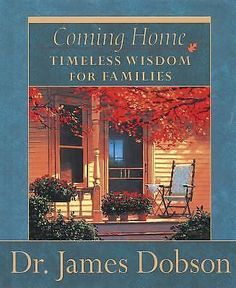 In Coming Home, Dr. James Dobson offers practical wisdom and help on a wide range of marriage and family issues. These selections from Dr. Dobson's 90-second radio feature, Focus on the Family Commentary, provide wisdom and inspiration for the various family relationships. Some provide an encouraging boost, while others give a gentle nudge that we all need occasionally to maintain healthy priorities at home. Families young and old will find this lovely gift book charming and insightf...
