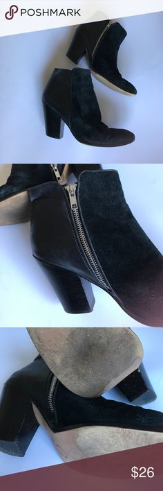 Cynthia Rowley ankle boots Cynthia Rowley ankle boots - size 8 ( suede and soft leather) gently used Cynthia Rowley Shoes Ankle Boots & Booties