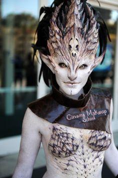 Cinema Makeup School cosplay.                                                                                                                                                                                 More