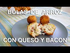 Bolas de arroz con queso y bacon - YouTube