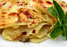 Frico con Patate {Potato and Cheese Fry} | bell' alimento