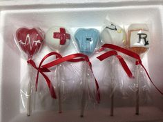 Medical cake pops by thepopcakery1 on Etsy