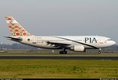 AP-BEU PIA Pakistan International Airlines Airbus A310-308