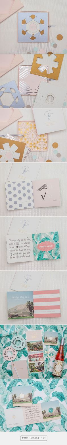 Edyta & Jared's Kaleidograph Wedding Invitations, Menu and Day Of Paper Details - Edyta Szyszlo Photography - created via http://pinthemall.net