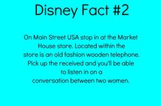 I've done that, of course I have I'm a total Disney freak and that conversation is quite entertaining