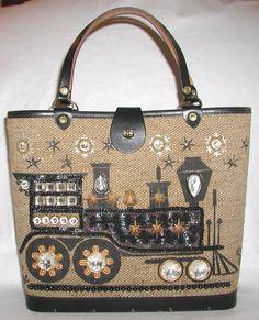 Enid Collins Vintage Handbag Iron Horse By Thevintagehandbag 78 00 Prada Handbags