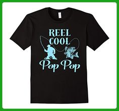 Mens Reel Cool Pop Pop Father's Day T-Shirt  3XL Black - Holiday and seasonal shirts (*Amazon Partner-Link)