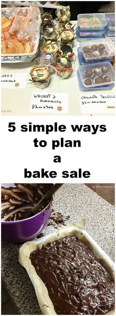 Planning a bake sale? These 5 simple tips can help your sale be a success! Includes links to popular recipes to use as well.