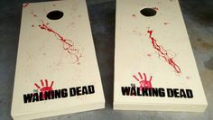 The Walking Dead Cornhole!