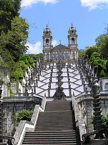 The Sanctuary of Bom Jesus do Monte, also referred to as the Sanctuary of Bom Jesus de Braga, located in the parish of Tenões in the city, county and district of Braga, Portugal.