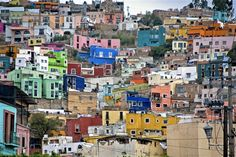 Original art for sale at UGallery.com | Hillside, Guanajuato, Mexico by Hal Robert Myers | photography | http://www.ugallery.com/ProductDetail.aspx?ProductID=19671