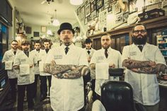 Best and most classic place for those with a beard, mustache or preferably lots of hair on their head.... Men only! #barber #rotterdam
